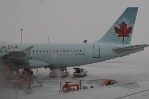 Landed at Edmonton