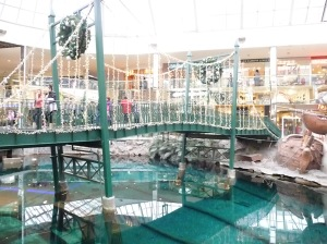Bridge over lake in WEM